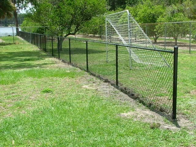 Tampa Color Coated Chain Link Fence